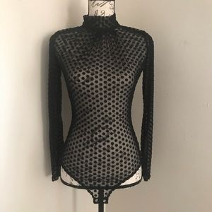 Windsor Mesh Bodysuit New With Tag